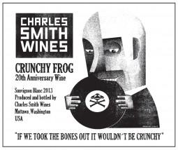 Crunchy Frog 20th Anniversary Sauvignon Blanc
