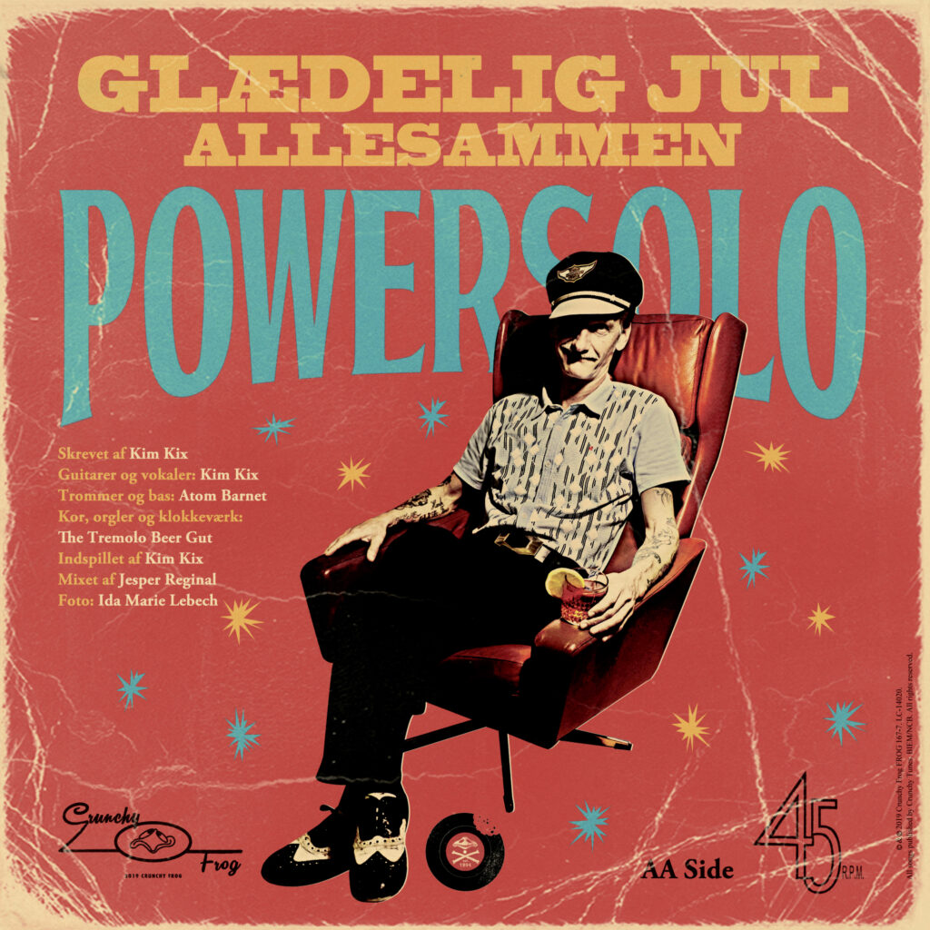 PowerSolo and The Courettes – Glædelig jul allesammen b/w Christmas (I Can Hardly Wait)