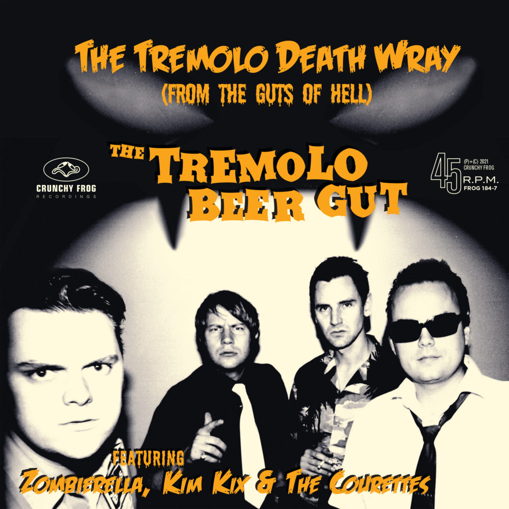 The Tremolo Beer Gut – X-mas Date at The Snow Club b/w The Tremolo Death Wray (From The Guts Of Hell)